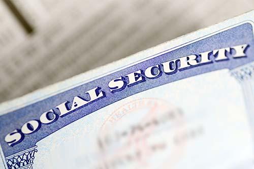 Tarjeta de seguro social