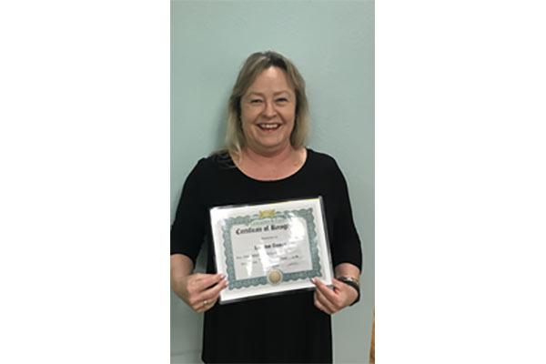 1st Quarter Employee Spotlight Award